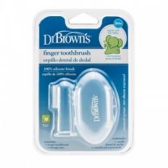 Dr. Brownun Silikon Parmaklı Diş Fırçası Saxlama Çantası ilə