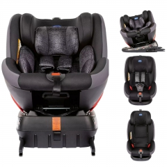 Chicco Seat4fix Group 0 + / 1/2/3 360 ° Spin Körpə ISOFIX Avtomobil Oturacağı - Qrafit