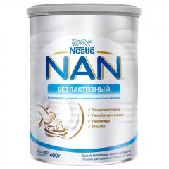 Doğuşdan Uşaqlar üçün NAN® Laktozsuz Quru Laktozsuz Formula, 400 q